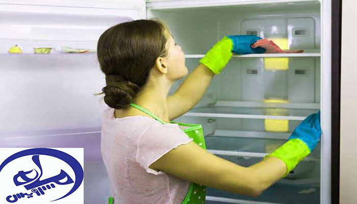 آموزش تمیزکردن یخچال